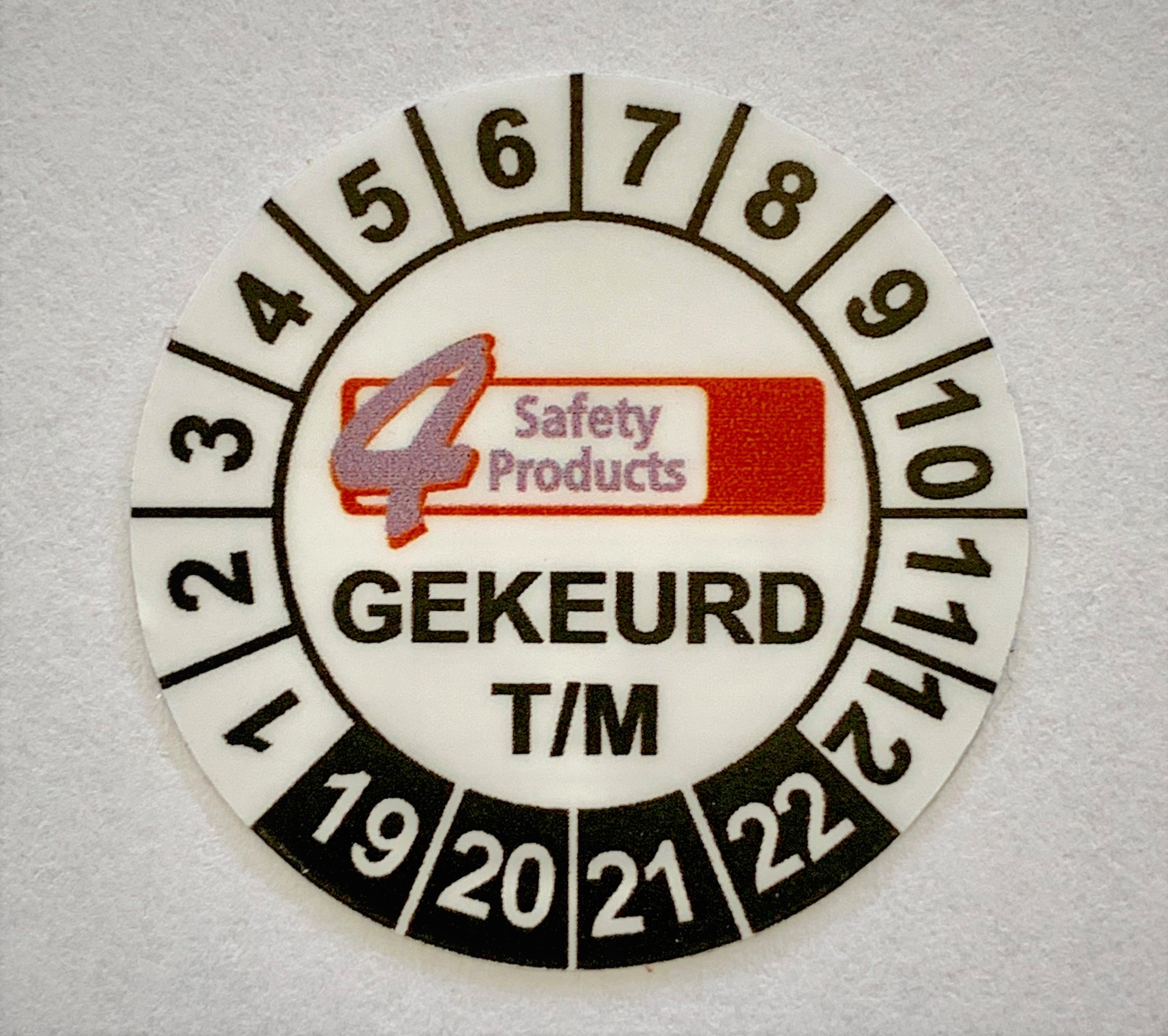 Keuren 4 Safety Products Geleen